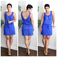 Mimi G romper and tank dress sew-along Diy Romper, Romper Dress, Diy Dress, Tank Dress, Shirt Dress, Casual Outfits, Cute Outfits, Tomboy Outfits, Cute Dresses