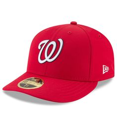 65b808c6f50c7 Washington Nationals New Era 2018 On-Field Prolight Batting Practice Low  Profile 59FIFTY Fitted Hat – Red