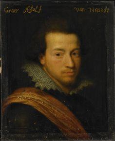 Adolf (1586-1608), graaf van Nassau-Siegen - Ravesteyn, Jan Antonisz. van