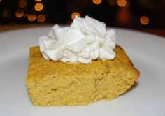 1 Carb Pumpkin Pie Square - made this for Christmas dinner & it was delish. Even those who weren't low carbers enjoyed it and the serving size isn't a tiny bite like some low carb recipes. Definitely a keeper!
