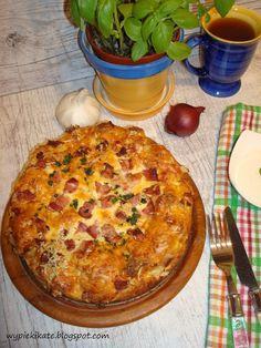 Wypieki Kate: Chlebek z wędzonym boczkiem i serem