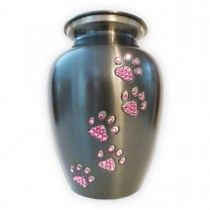 Bling! Pawsitive Reflection Pet Urn