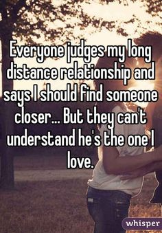 But for many people in a long distance relationship, nothing can stop you from loving each other. | 17 Heartfelt Confessions About Coping With A Long-Distance Relationship
