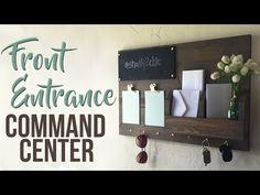 DIY Command Center - Shanty 2 Chic
