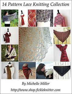 15 Lace knitting patterns e book