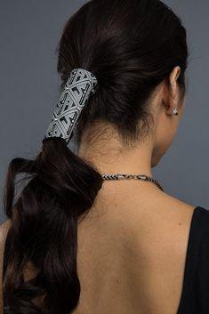 Hair Glove Diamond Cut 4 Inch Womens Motorcycle Accessories Hair Gloves