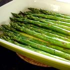 Baked Asparagus with Balsamic Butter Sauce .. yum !