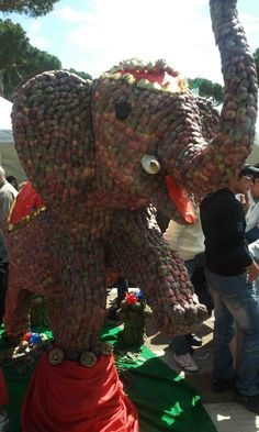 The Ladispoli's Elephant of artichocke