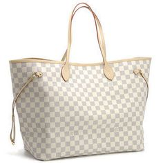 louis vuitton checkered tote
