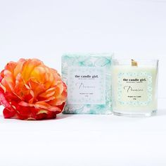 Last chance FREE OVERNIGHT SHIPPING for The Candle Girl's Valentine's Day candle 'Peonies'. Such a beautiful and romantic scent with fragrant notes of peony rose, passion fruit, amber & delicate oriental jasmine. These scents have been thoughtfully combined to create a unique scent that is perfect for any romantic occasion or 'me' time in the tub with a glass of bubbles!  www.thecandlegirl.com.au