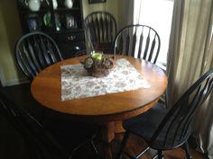 Antique oak table 2