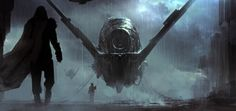 guardians of the galaxy concept 8 by atomhawk design d'artiste Digital Painting…