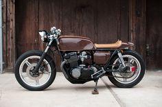 "motographite: HONDA CB 750F '78 ""ESPRESSO"" by KEN WU"