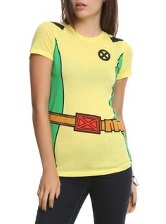 Marvel X-Men Rogue Costume Girls T-Shirt | Hot Topic