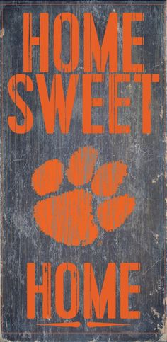 Is your home a Clemson Football Home? Then you need this sign. This Clemson…