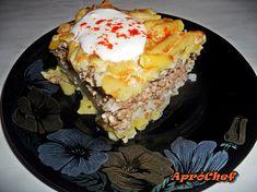 Rakott zöldbab - Gasztrodiziákum Penne, Lunch, Desserts, Recipes, Food, Tailgate Desserts, Deserts, Eat Lunch, Essen