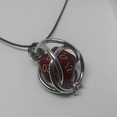 Red Dice Necklace Jewelry Ideas, Diy Jewelry, Jewelry Gifts, Jewlery, Jewelry Accessories, Unique Jewelry, Dragon Jewelry, Rubicon, Craft Items