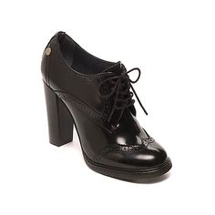 Tommy Hilfiger Heeled Brogue (son los que tengo) Lace Up High Heels, High Heel Boots, Lace Up Shoes, Cute Shoes, Shoe Boots, Ankle Boots, Tommy Hilfiger Heels, Tommy Hilfiger Damen, Heeled Brogues