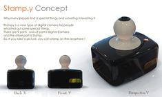 Stampy Digital Camera by Jinhee Kim » Yanko Design