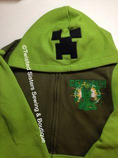 Creeper hoodie.  $35 each plus shipping