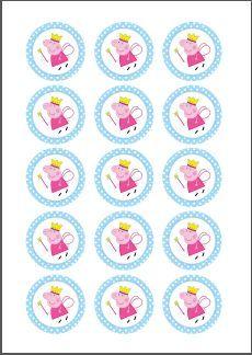 N.M. Galletas Artesanas: Kit de fiesta Peppa Pig {Descarga gratuíta}