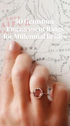 Different Engagement Rings, Gemstone Engagement Rings, Perfect Engagement Ring, Engagement Ring Styles, Vintage Engagement Rings, Wedding Engagement, Wedding Pics, Wedding Trends, Dream Wedding