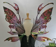 Kira Fairy Wings @ Etsy. Seller: TheFancyFairy. Get it @ http://www.etsy.com/listing/92331048/kira-fairy-wings-in-your-custom-color