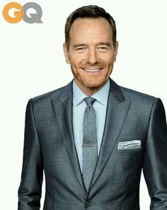 Brian Cranston on the cover of GQ, looking so very handsome!