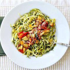 5 idées autour des spaghettis de courgette