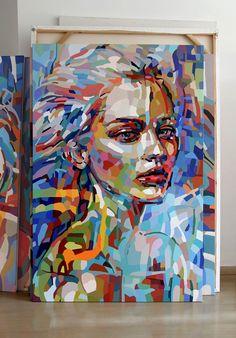 Noemi Safir Dolev Large scale portrait
