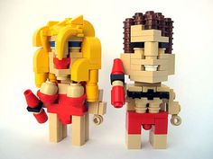 Pixelated LEGO Icons - Cube Dudes Immortalizes Pop Culture Characters in Block Form (GALLERY)