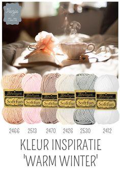 Kleurinspiratie Warm Winter / Scheepjes Softfun