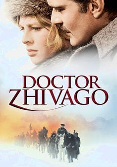 Doctor Zhivago (1965) A young physician (Omar Sharif) and his beautiful mistress (Julie Christie) get swept up in the danger and drama of the Bolshevik Revolution in this Oscar-winning epic based on the classic novel by Nobel Prize-winning author Boris Pasternak. The film earned five Academy Awards in all, including statues for Best Art Direction, Best Cinematography, Best Costume Design, Best Score and Best Screenplay. Alec Guinness and Rod Steiger co-star.