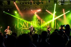 Korpiklaani on stage at Fosch Fest in Bagnatica, Italy, on 24th July 2016