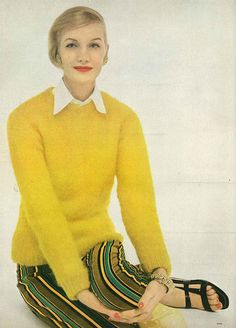 Sunny Harnett, March Vogue 1956 by dovima_is_devine_II, via Flickr