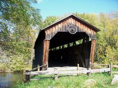 Kidds Mill Covered Bridge, Mercer County PA We used to live right next to this bridge. Old Bridges, Mercer County, Living In Boston, Covered Bridges, 50 States, Lighthouses, Woodstock, Blame, Barns
