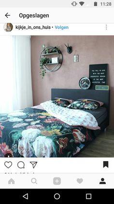 Muurkleur slaapkamer: piment mat mengbaar van histor of flexa