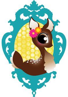 Hoe begin je je online kinderwinkel, inderdaad met een logo. Mag ik jullie voorstellen aan Zoete Hert?!?!?!