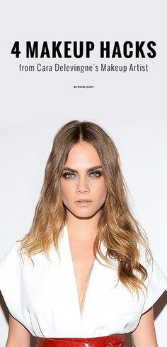 4 game-changing summer beauty hacks from Cara Delevingne's makeup artist