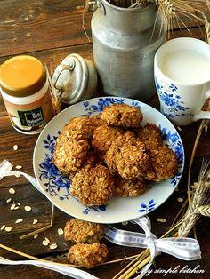My simple kitchen: Ciastka owsiane z olejem kokosowym