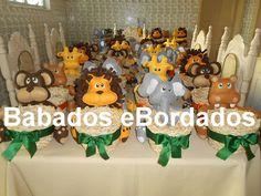 Babados & Bordados: Safari cachepô (M)