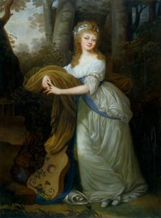 Portrait of Krystyna Magdalena Radziwiłłówna by follower of Giuseppe Maria Grassi, after 1795 (PD-art/old), National Arts Museum of the Republic of Belarus; Krystyna Magdalena was a daugher of Helena Radziwiłłowa from her romance with Russian ambassador in Warsaw, Otto Magnus von Stackelberg