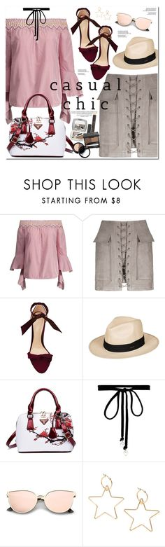 """Casual Chic"" by oshint ❤ liked on Polyvore featuring Alexandre Birman, Roxy and Joomi Lim"