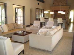 Utilizing Spacious Spaces to Design Some Charming Open Living Rooms  Luxury Open  Living Room With White Sofacontemporary modern open plan kitchen living room   Home  . Open Kitchen Living Room Design. Home Design Ideas