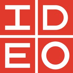 The IDEO logo: Originally designed by the celebrated logo master, Paul Rand in 1991. Later updated by Michael Beirut of Pentagram in 1997. Click image for more details.