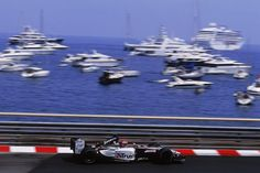 Monaco GPs - 2003 - Justin Wilson of Great Britain and Minardi in action.