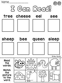 EE worksheets and activities that are no prep and really engaging