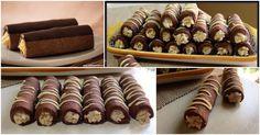Impastate tutti gli ingredienti x la frolla, formate un panetto e fate riposare in frigo per almeno 30 minuti. Trascorso il tempo di riposo stendete l'impasto, tagliate dei quadrati di circa 8-10 cm per lato e dello spessore di 3-5 mm, avvolgeteli sui cannelli di alluminio (io li ho creati con della pasta avvolta con…