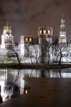 Novodevichy Monastry,  Moscow