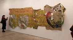 El Anatsui Artist Exhibition Jack Shainman Gallery Chelsea Manhattan New York